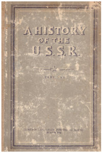 A history of the U.S.S.R. Part two.
